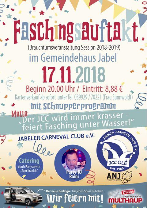 Fasching Karneval In Jabel Muritzportal